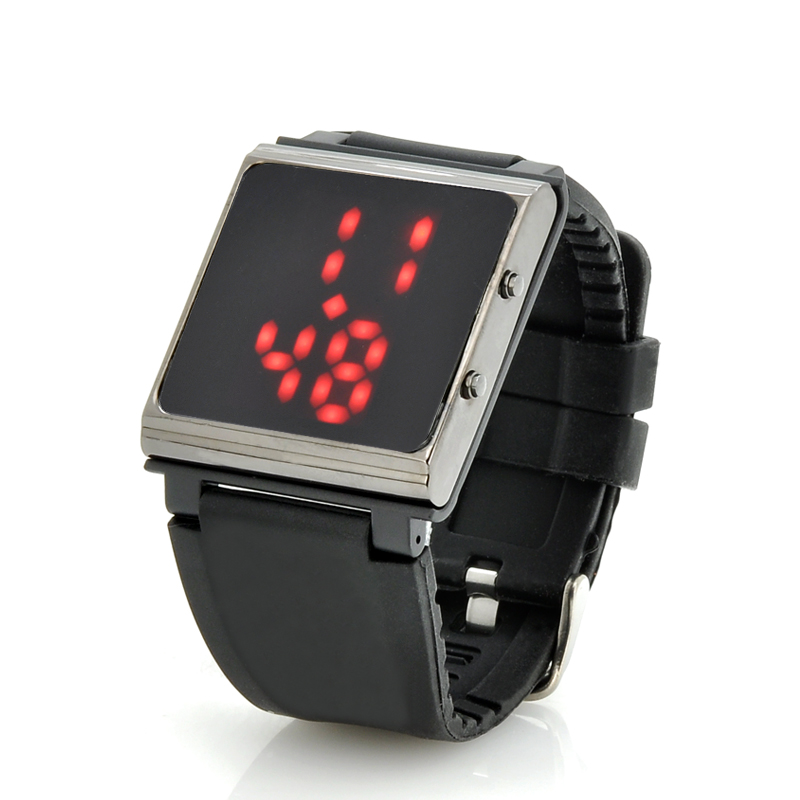Wholesale LED Watch with Detachable Watch Face And Rubber Strap - iPod 6th Gen Holder