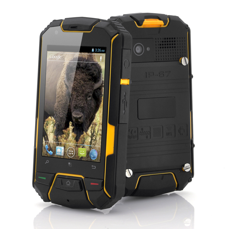 Wholesale Bison II - Rugged 3.5 Inch Dual Core Phone (Android 4.0, QHD 960x640, Waterproof, Shockproof, Dustproof)