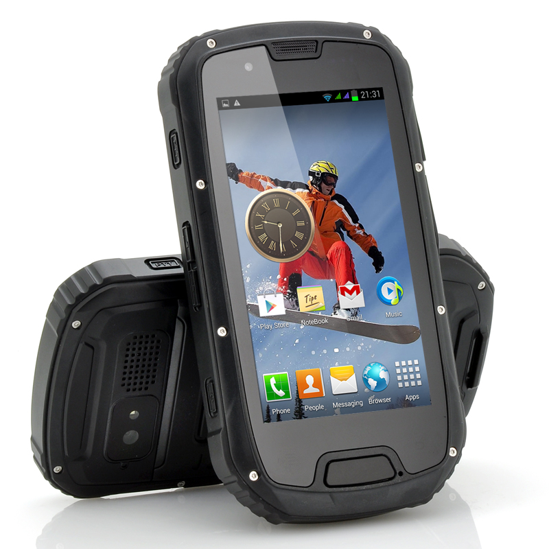 Wholesale Utor - 4.3 Inch Rugged Quad Core Android 4.2 Phone (Black, IP67 Waterproof, 1.2GHz CPU, 1GB RAM, 8MP Camera)