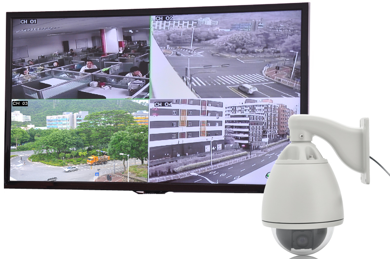 Iron Dome - Speed Dome IP Camera (PTZ, 27x Optical Zoom, Sony CCD Lens, H.264)