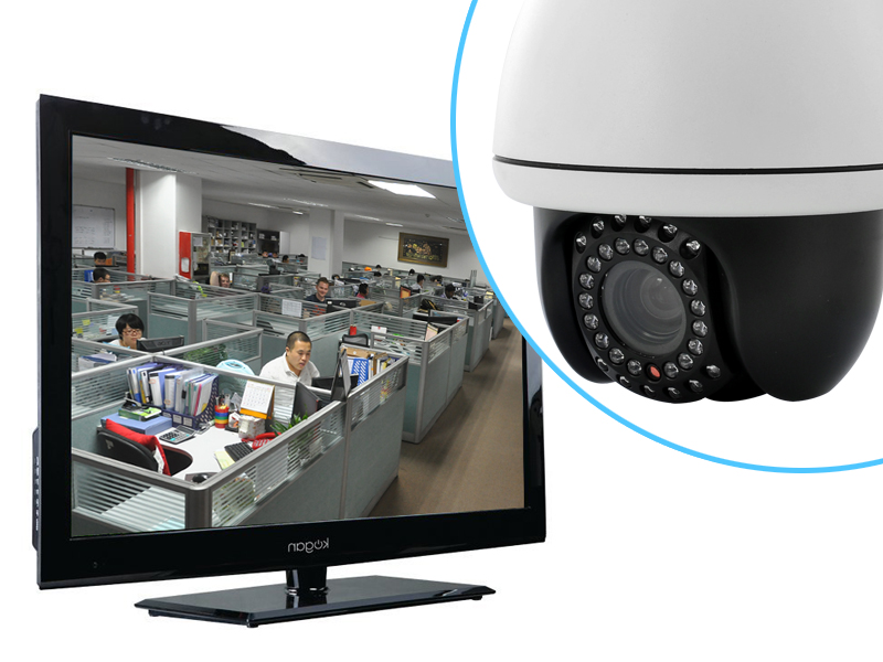 Merryweather - Speed Dome IP Security Camera (PTZ, 10x Optical Zoom, 30m Night Vision, H.264, Sony HAD CCD)