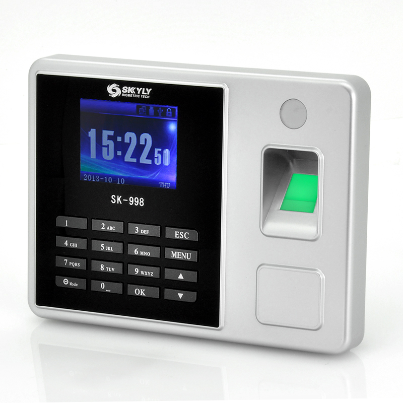 Wholesale 2.8 Inch Color Screen Time Attendance Fingerprint System with LAN & USB Ports