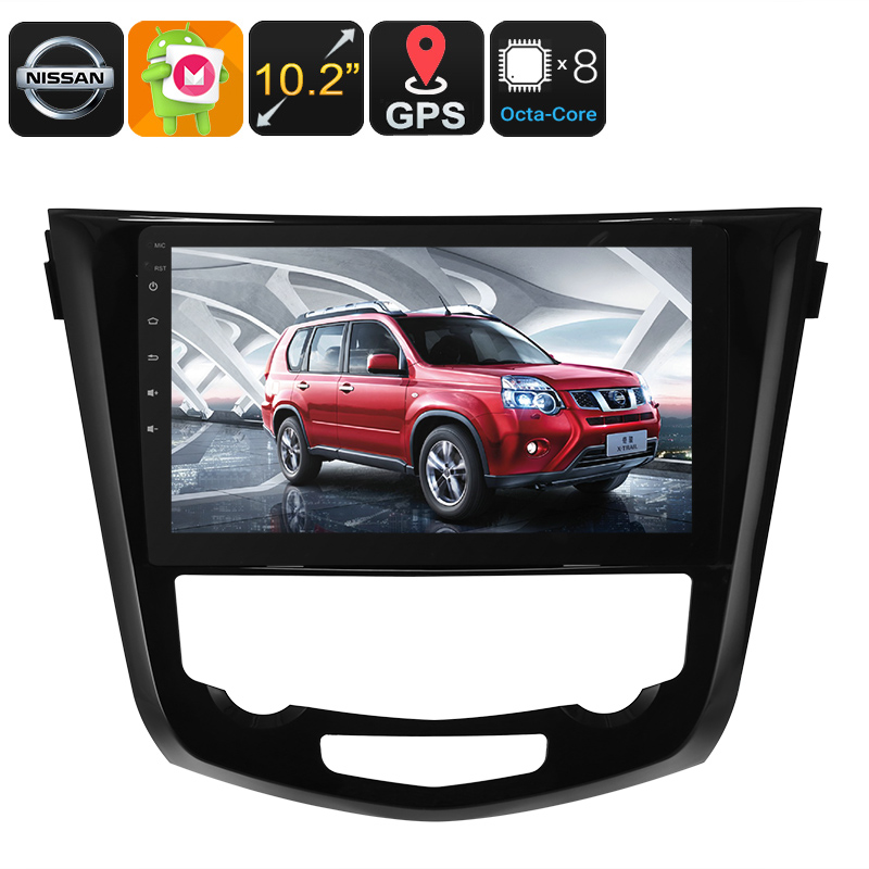 Wholesale 10.2 Inch Android 1 DIN Car Stereo for Nissan X Trail (Bluetooth, WiFi, 3G, GPS, 1024x600, 32GB)