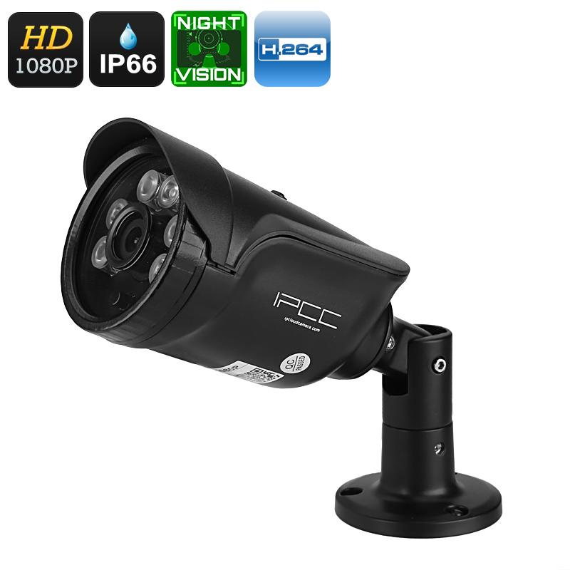 Wholesale Waterproof 1080p PoE Security Camera (2MP, 25m Night Vision, Motion Detection, Mobile Phone View, ONVIF)