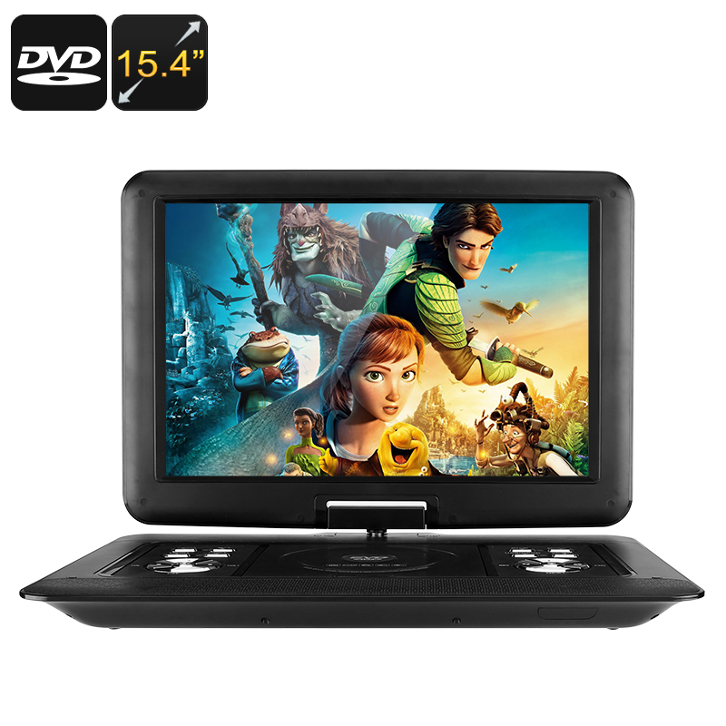 Wholesale 15.4 Inch Portable EVD DVD Player (Universal Disc, Game, FM Radio, Analog TV, 3D Movie, 1366x1280)