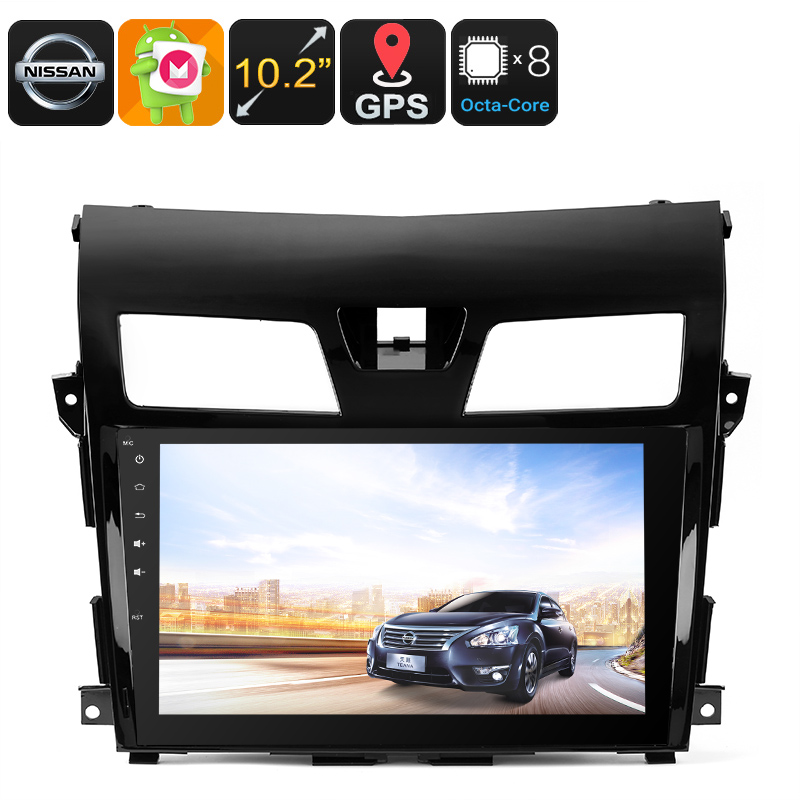 Wholesale 10.2 Inch 2 DIN Android 6.0 Media Player for Nissan TEANA (GPS, 3G, Bluetooth, Octa-Core CPU, 32GB)
