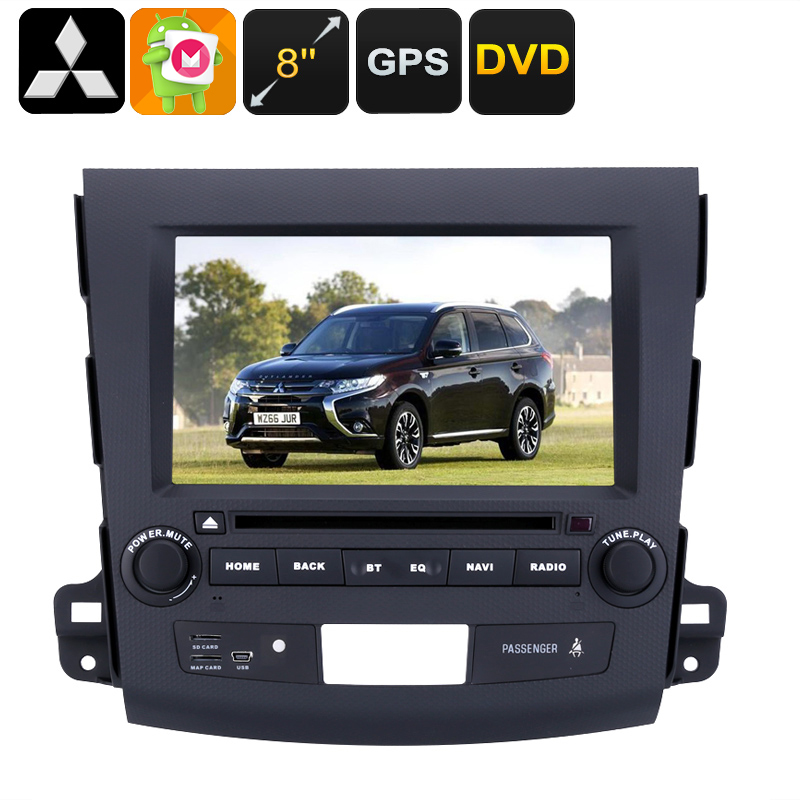 Wholesale 8 Inch HD 2 DIN Android Car DVD Player for Mitsubishi Outlander (GPS, Bluetooth, Region Free, 3G, 32GB)
