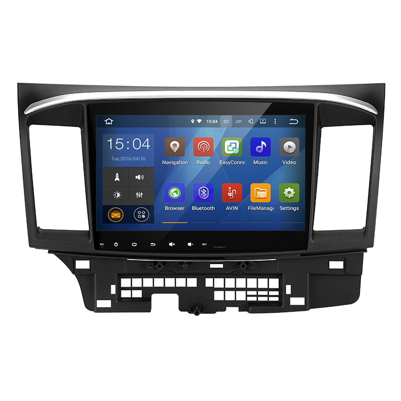 10.2 Inch 2 DIN Android 6 Car Stereo For Mitsubishi Lancer