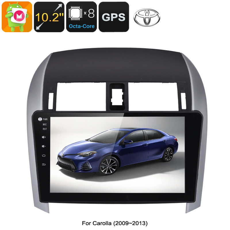 10 2 Inch Touchscreen 2 DIN Android Car Stereo for Toyota Corolla