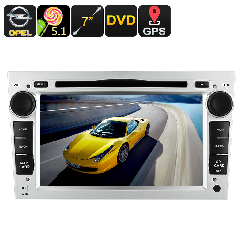 Universal 7 Inch HD 2 DIN Car Stereo (Android 7 1, 4 Core CPU