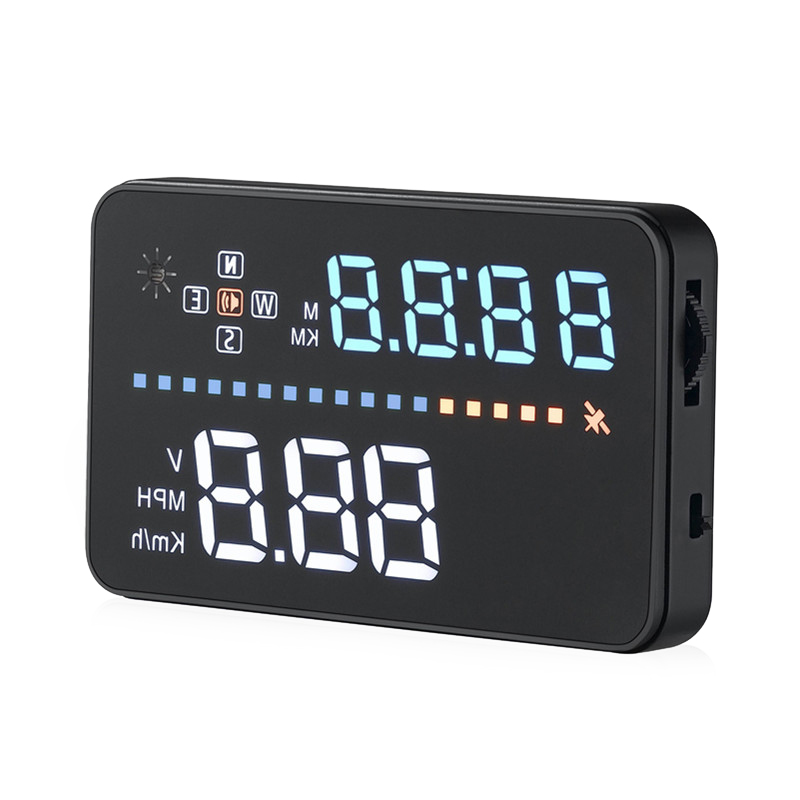 Wholesale A3 3.5 Inch Car HUD (ODB2, Speed Alarm, Plug And Play)