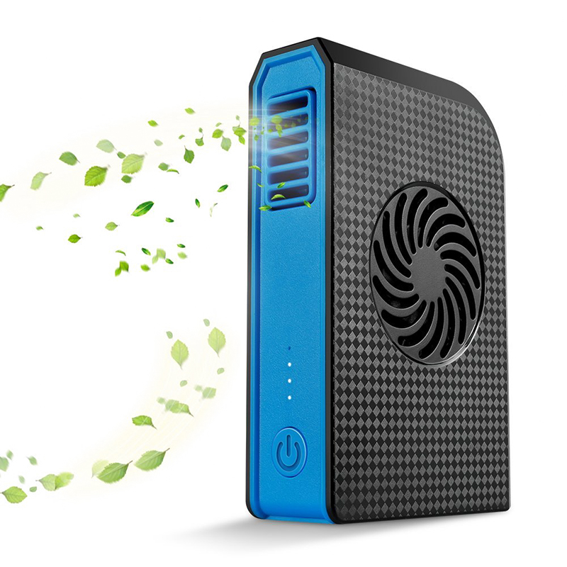 Wholesale High Capacity Power Bank with Built-In Fan (6000mAh, 5V/2A, Brushless Motor)