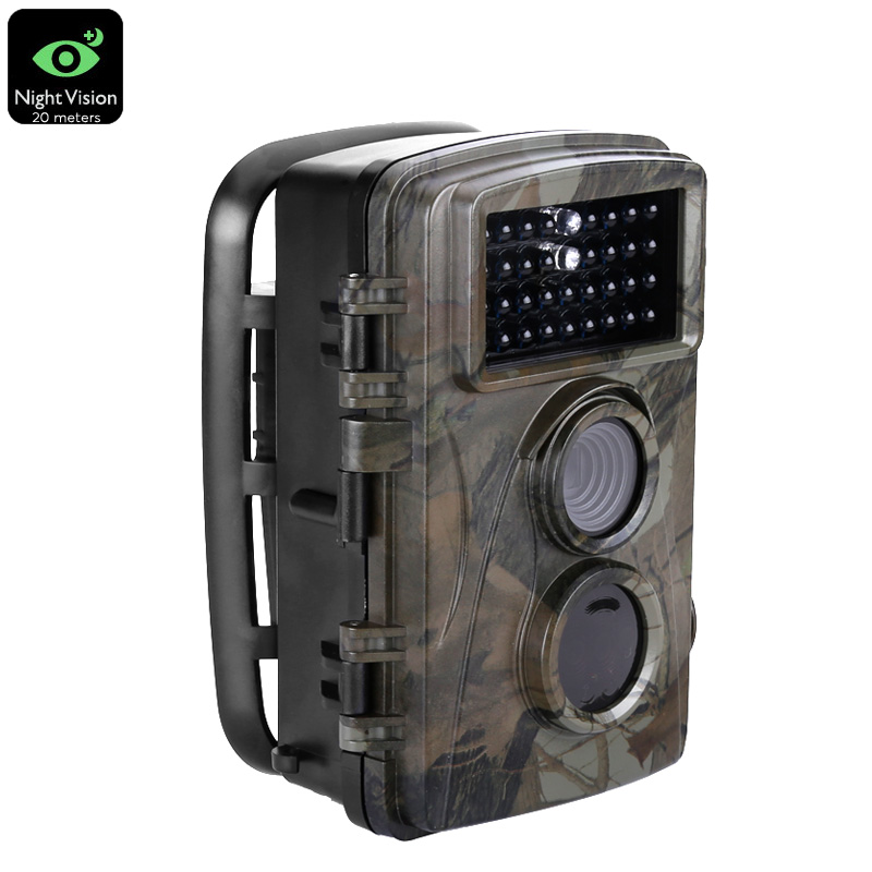 Wholesale PIR 720P HD Trail Camera (5MP CMOS, 20 Meter IR Flash, IP54 Waterproof, 12 Months Standby)