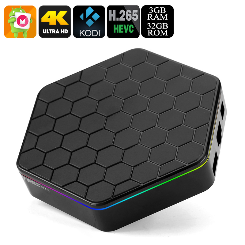 Wholesale Sunvell T95Z Plus Android TV Box (4K, Dual-Band WiFi, Kodi, Octa-Core CPU, 3GB RAM, 32GB)