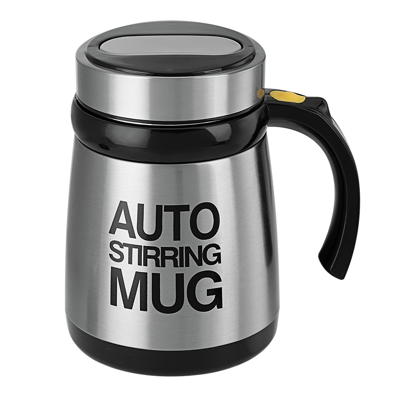 Wholesale Multifunctional Stainless Steel Automatic Stirring Mix Mug - 400ML
