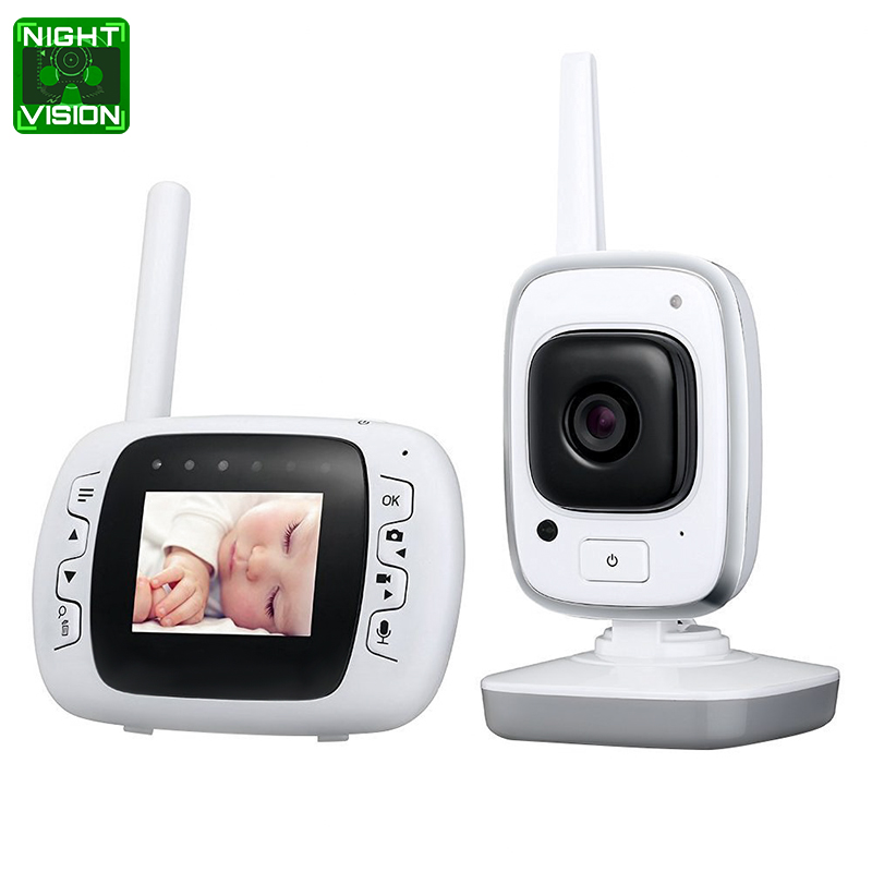 Wholesale 300 Meter Wireless Baby Monitor (Two Way Audio, Temperature Detection, Night Vision, 32GB)