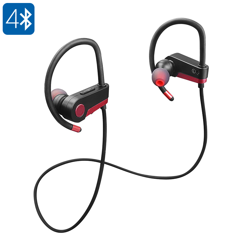 Wholesale Dual-mode Bluetooth 4.0 Sports Headphones with Built-in Microphone and Smart Call Answer/Reject