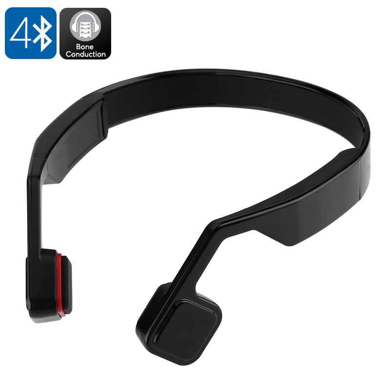 Wholesale Bone Conduction Bluetooth Headphones with Built-in Microphone (Hands-Free Phone Calls, 10 Meter Range)