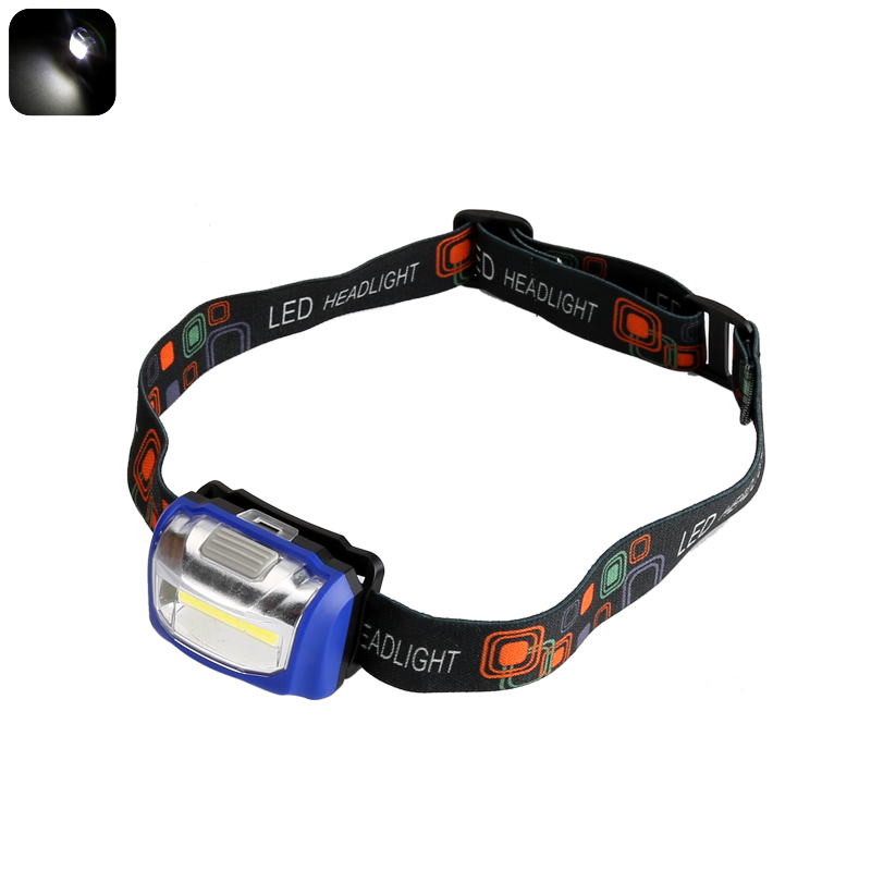 Wholesale COB LED Headlight (110 Lumen, Durable, Weatherproof, Blue)