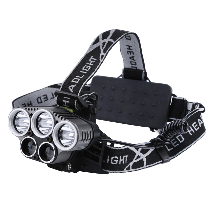 Wholesale Outdoor CREE LED Headlight (Durable Aluminum Alloy, Blue-ray LED for Hunting/Fishing)