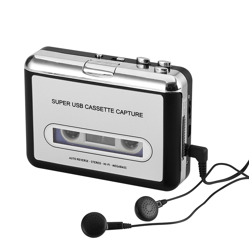 Wholesale Cassette Tape to MP3 Converter (Plug and Play, Auto Reverse)