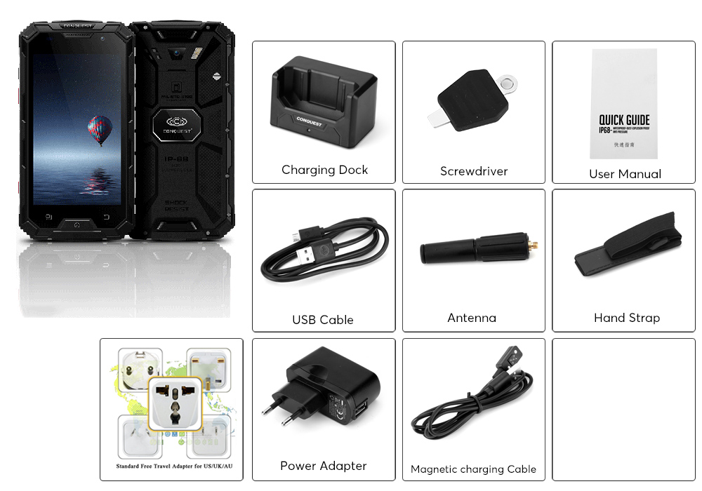 images/buy-wholesale-electronics/Conquest-S8-Rugged-Phone-2017-Edition-4G-Android-60-IP68-GPS-IR-Transmiter-Walkie-Talkie-Octa-Core-CPU-4GB-RAM-Black-plusbuyer_98.jpg