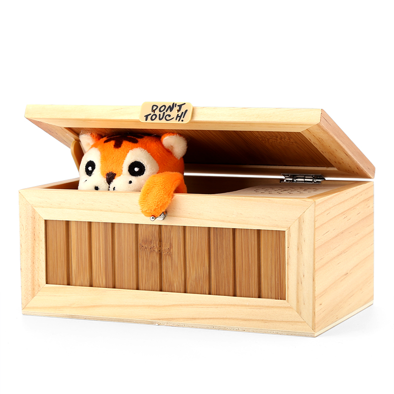 Wholesale Cute Hidden Tiger Desk Toy Box