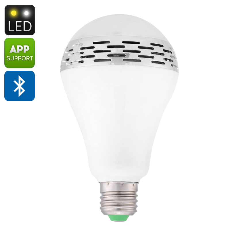 Wholesale E27 Music LED Light Bulb (Bluetooth 4.0 Speaker, iOS + Android R