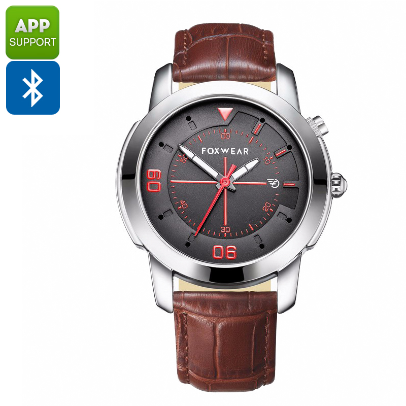 Wholesale Foxwear Y22 Bluetooth Sports Watch (Stylish Quartz Design, Swiss Ronda 751 Movement, Silver)
