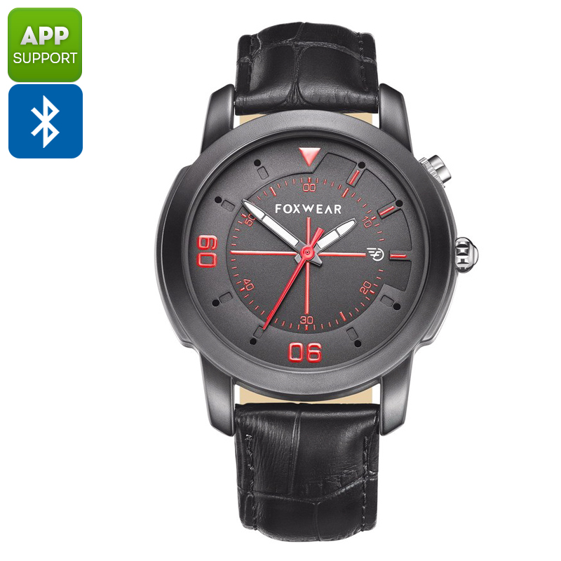 Wholesale Foxwear Y22 Bluetooth Sports Watch (Stylish Quartz Design, Swiss Ronda 751 Movement, Black)