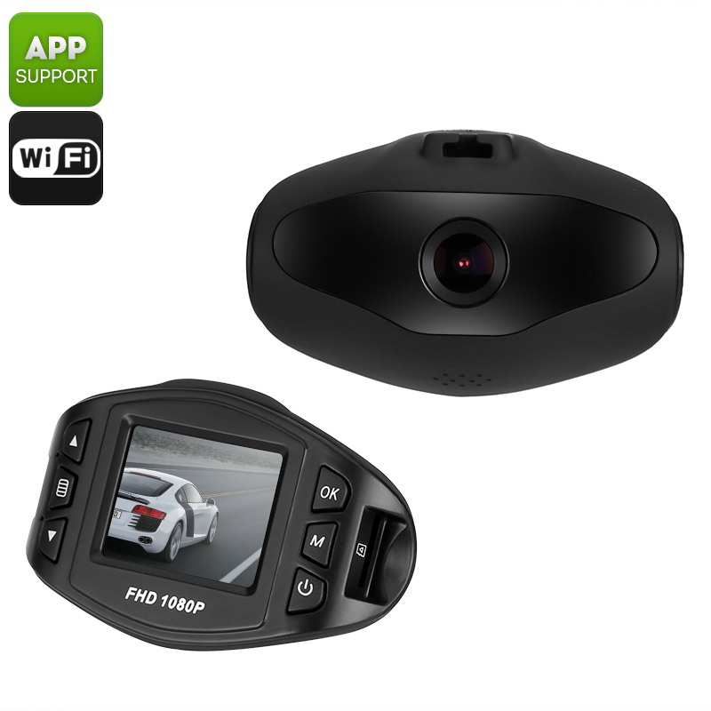 Wholesale Full HD WiFi Dash Cam (Wide Angle, 1080p, 12MP Image, Loop / Motion Detection Recording)