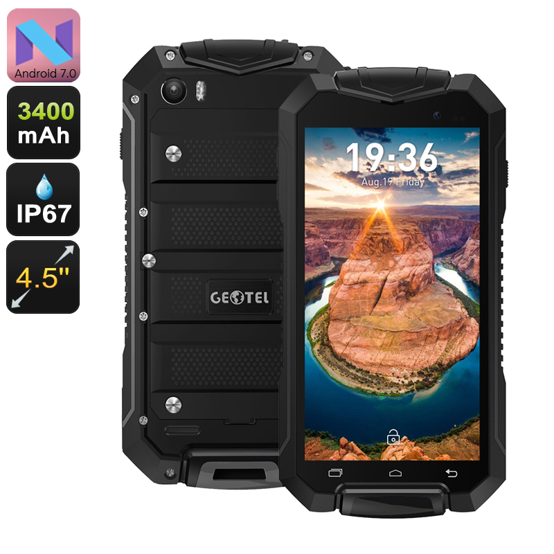 Wholesale Geotel A1 4.5 Inch IP67 Rugged Android Phone (Dual IMEI, Quad-Co