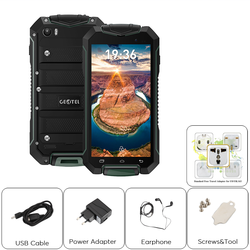 Geotel A1 4 5 Inch Ip67 Rugged Android Phone Dual Imei