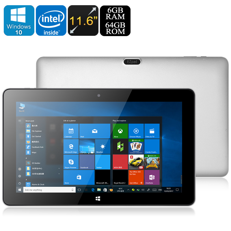 Wholesale Jumper EZpad 6 Pro 11.6-Inch Windows 10 Tablet PC (Apollo Lake C