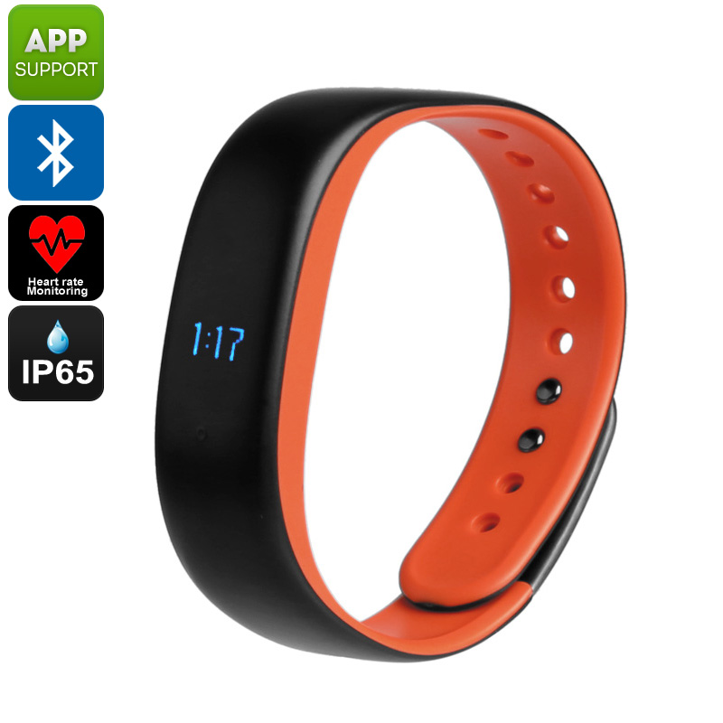 Wholesale Lenovo HW02 IP65 Waterproof Fitness Tracker Bluetooth Bracelet