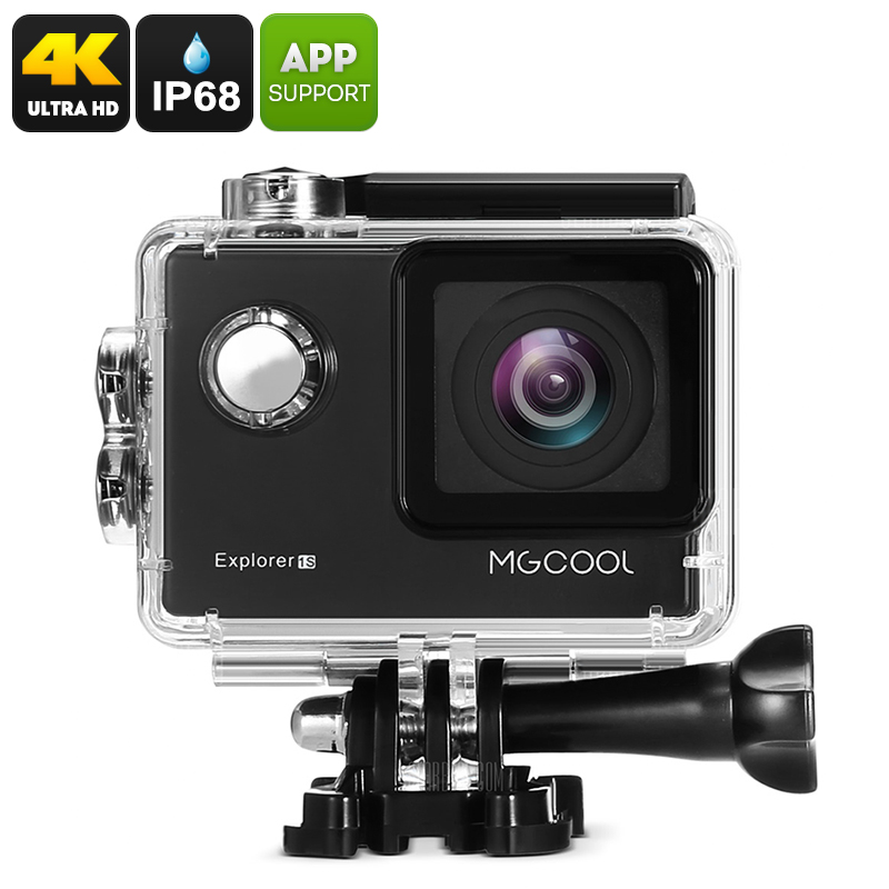 Wholesale MGCOOL Explorer 1S 4K Wi-Fi Action Camera (3840x2160, Anti Shake