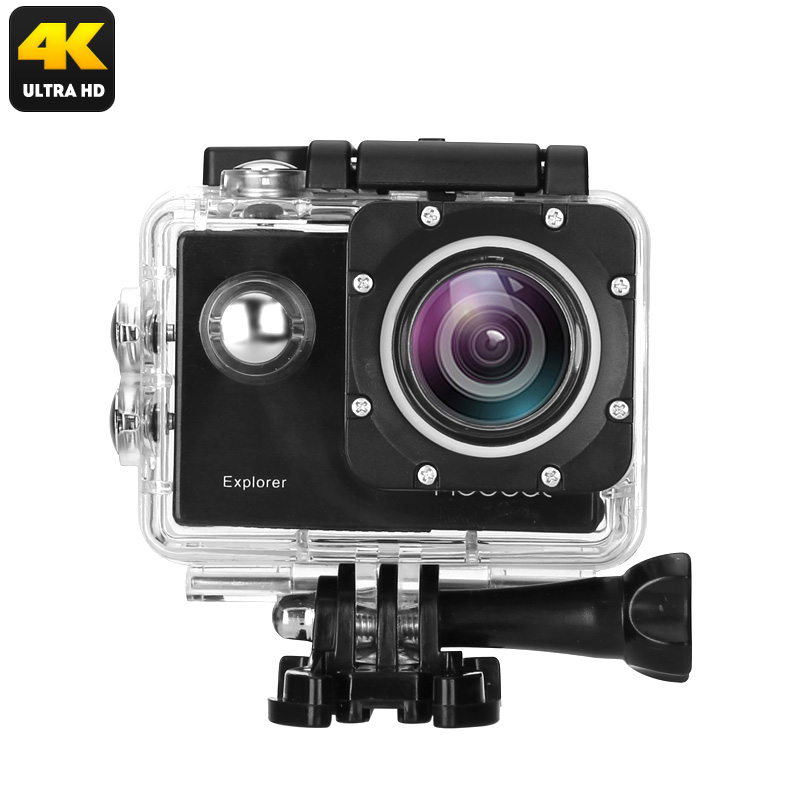 Wholesale MGCOOL Explorer 4K Sports Action Camera (WiFi, IP68 Waterproof Case, 170 Degree Wide Angle, 2 Inch Screen)