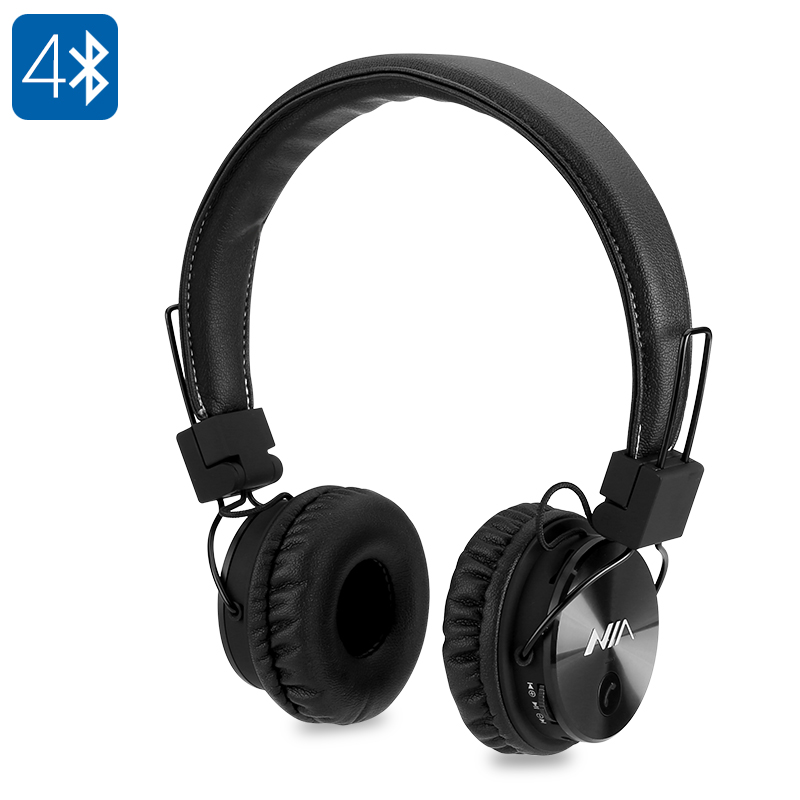 Wholesale NIA X3 Wireless Bluetooth Headphones with 40mm Drivers, FM Radio, SD Card Slot
