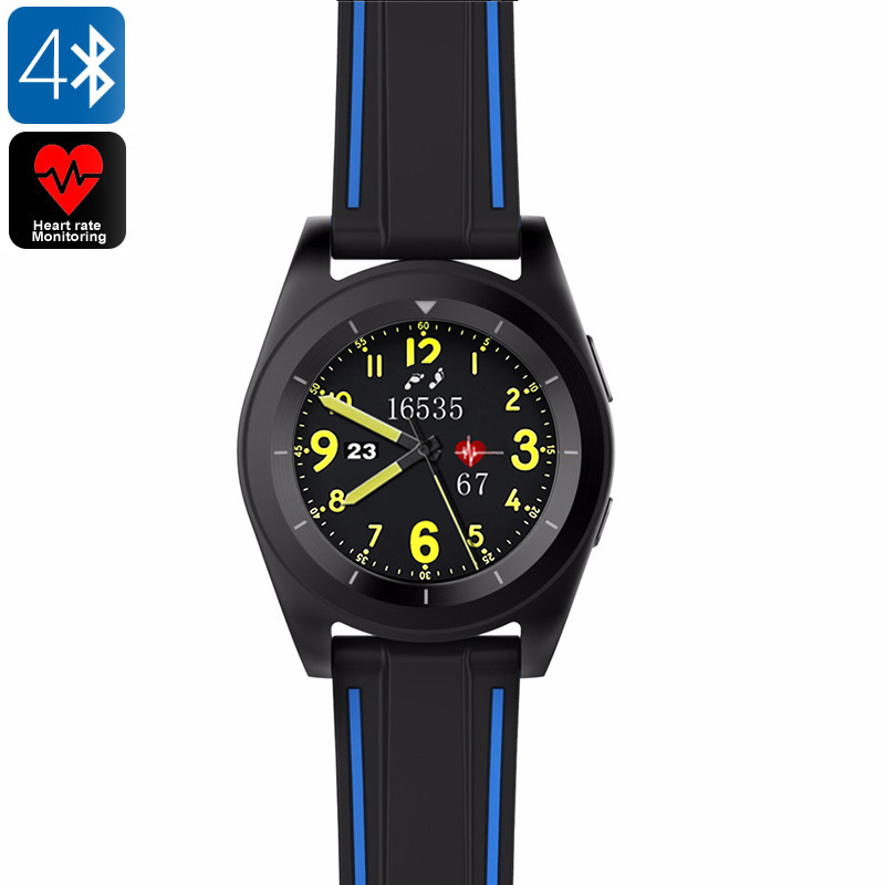 Wholesale No.1 G6 Bluetooth 4.0 Sports Watch with Fitness Tracker - Black TPU