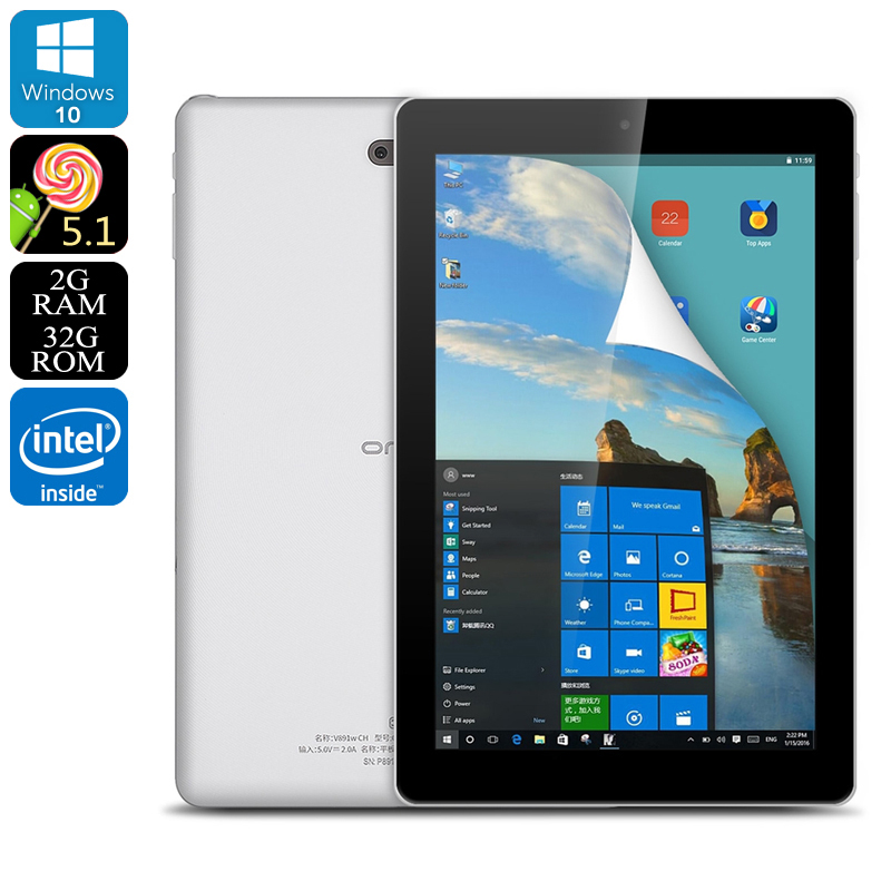 Wholesale Onda V981w CH 8.9-Inch Dual-OS Tablet PC (Windows 10 + Android,