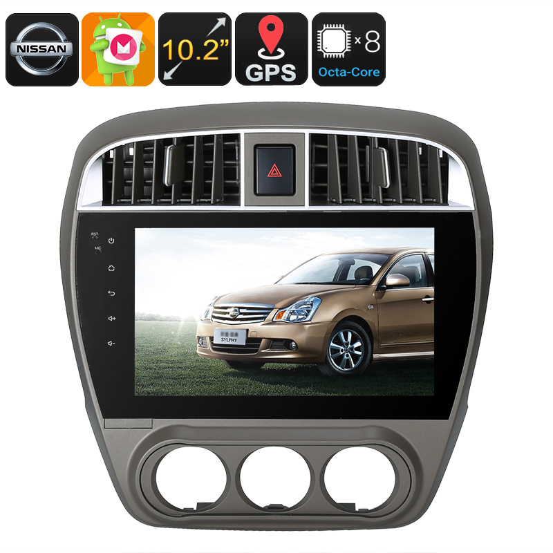 Wholesale 10.2 Inch HD One DIN Android Car Media Player for Nissan (WiFi+ 3G, CAN BUS, Octa-Core, 2GB RAM, GPS)