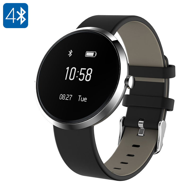 Wholesale Ordro S10 Smart Bluetooth Sport Bracelet (Calorie Counter, Blood Pressure, Heart Rate, Sleep Monitor, Pedometer, Silver)