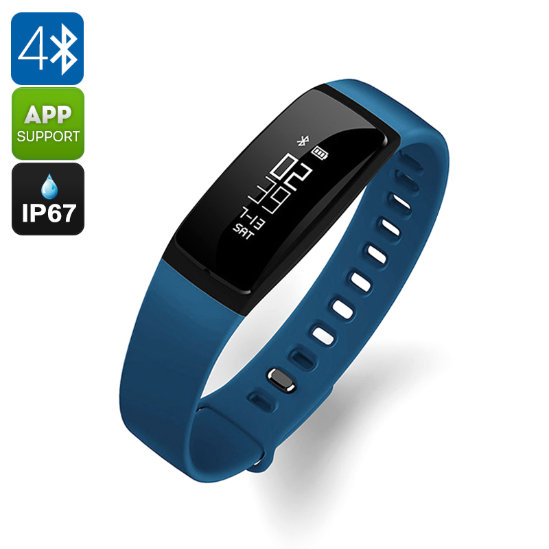 Wholesale Ordro S11 IP67 Waterproof Smart Sports Bracelet (Bluetooth 4.0, Pedometer, Heart Rate Monitor, Blue)