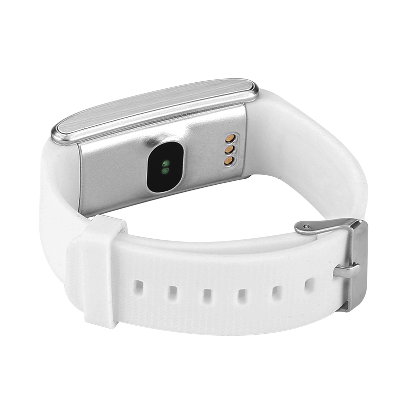 Ordro S12 Fitness Bracelet with Pedometer, Heart rate, Sleep Monitor, Call Reminder - White