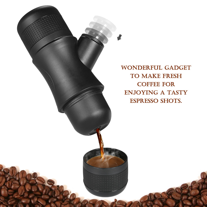 Wholesale Portable Espresso Coffee Maker (70ml, Hand Pump, No Electricity Needed)