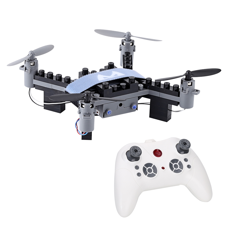 Wholesale SMRC M3 Blocks DIY Mini Drone with 6 Axis Gyro, 3D Flip, Headless Flight, 50M Range