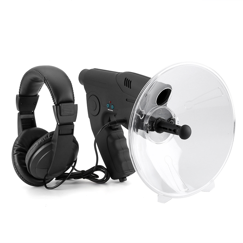 Wholesale 100 Meter Range Sound Amplifier with Monocular and Stereo Headphone (8x Zoom, Outdoor Recording, Playback)
