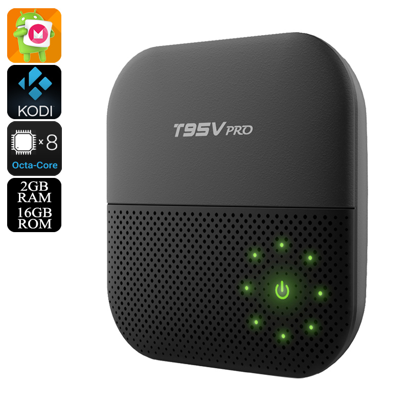 Wholesale Sunvell T95V Pro Android 6.0 TV Box (4K Movie, Wi-Fi, Octa-Core CPU, Kodi, 2GB RAM, 16GB)