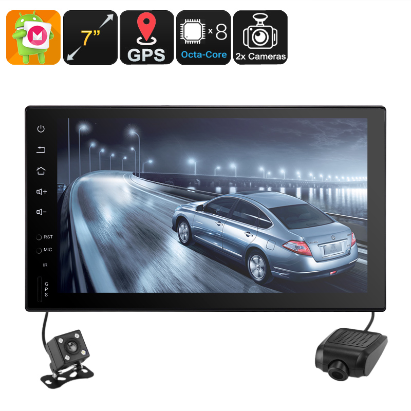 Wholesale 7 Inch HD Universal 2 DIN Android Car Stereo with GPS, Car DVR, Rear View Camera