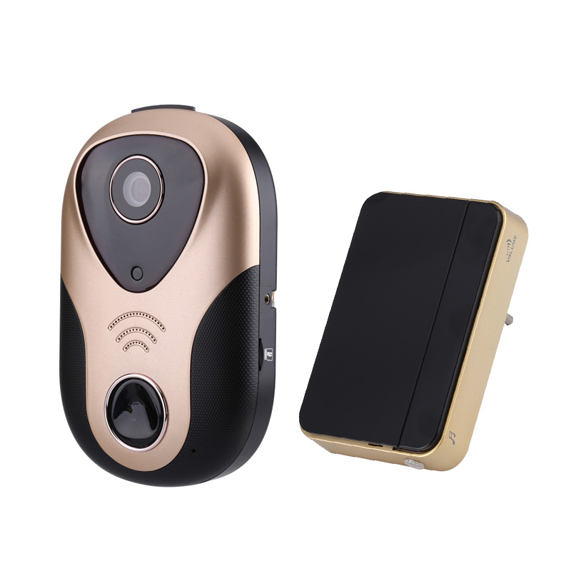 Wholesale Two Way Audio 720p Wireless Video Doorbell (Night Vision, Mobile View, Motion Detection, Alarm)
